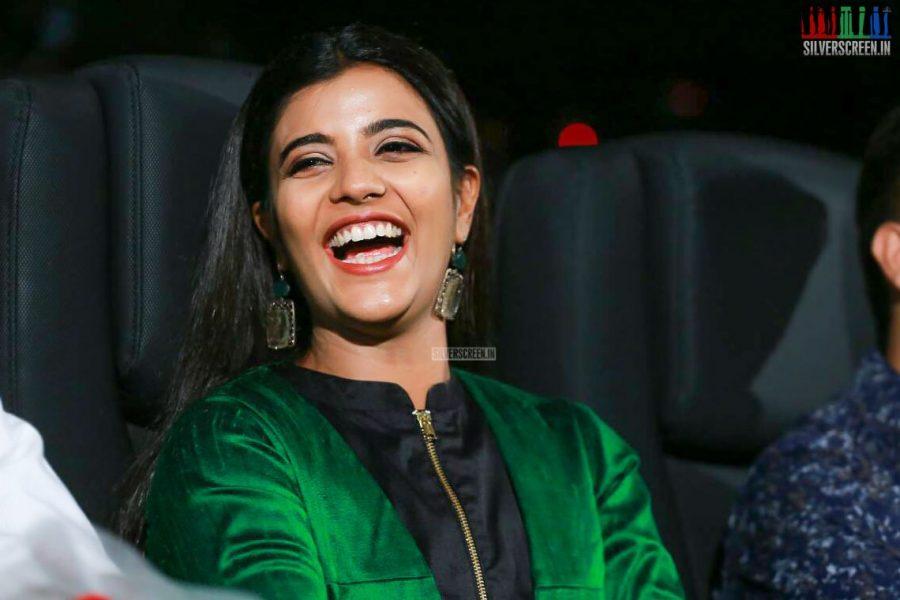 Aishwarya Rajesh At The Kanaa Audio Launch