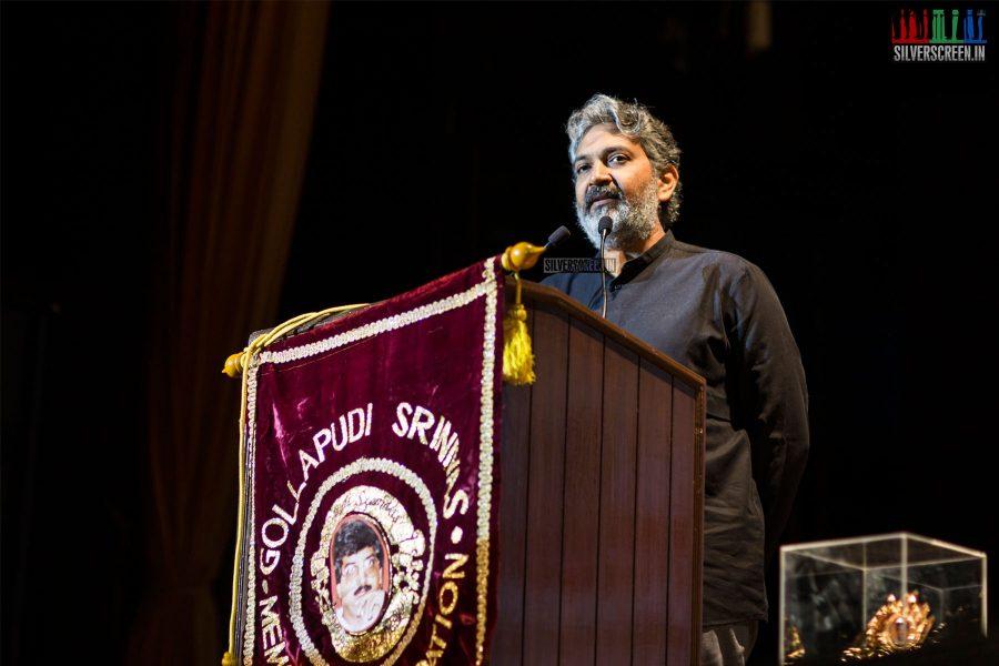 SS Rajamouli At The 21st Gollapudi Srinivas National Award