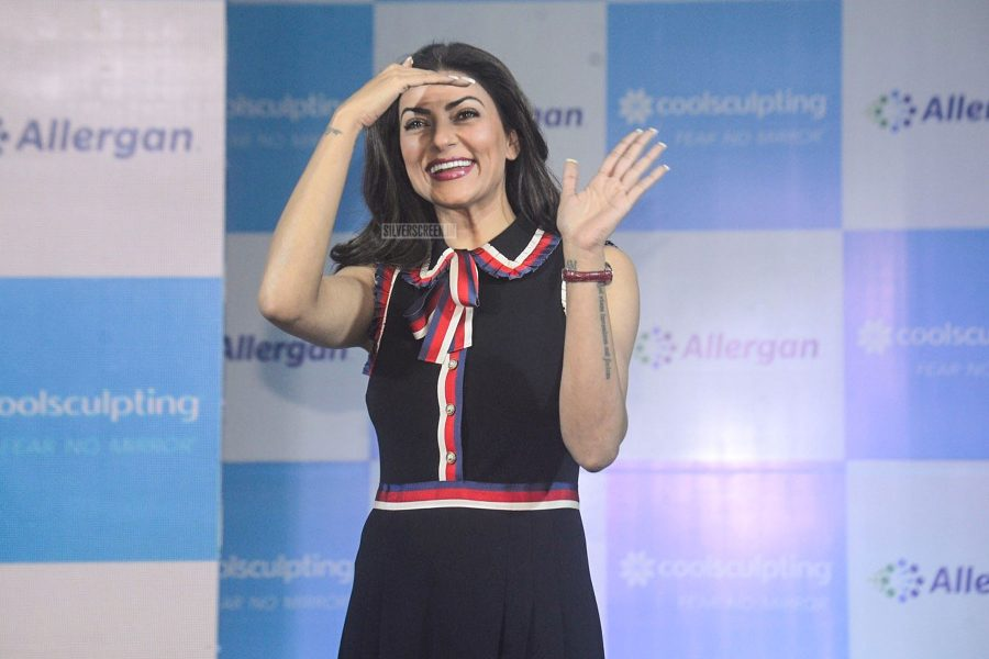 Sushmita Sen At A Mumbai Event On Body Contouring Techniques