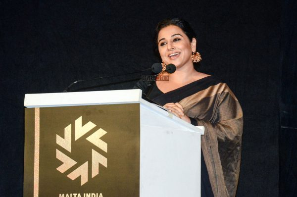 Vidya Balan At The Malta India Film Festival 2018