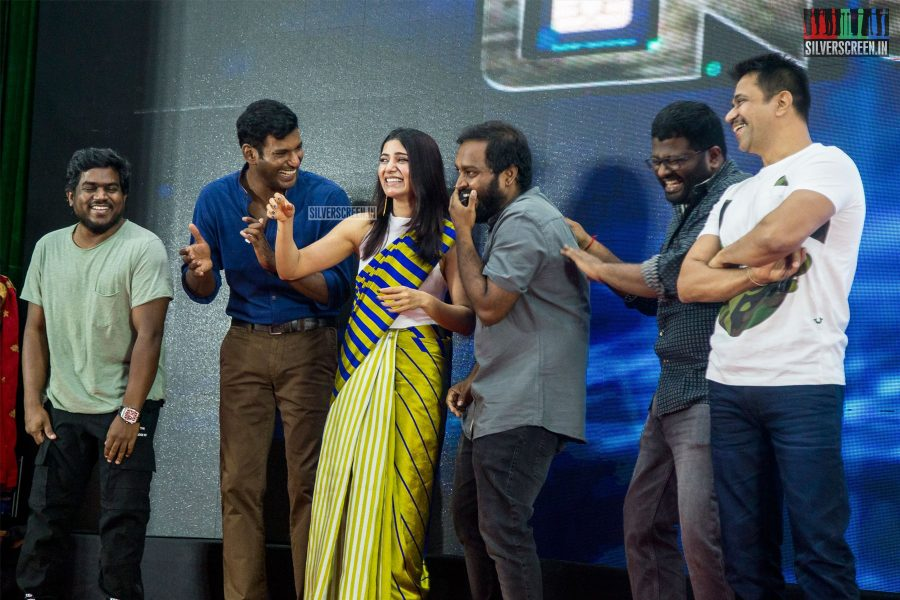 Vishal, Samantha At The Irumbuthirai Success Meet