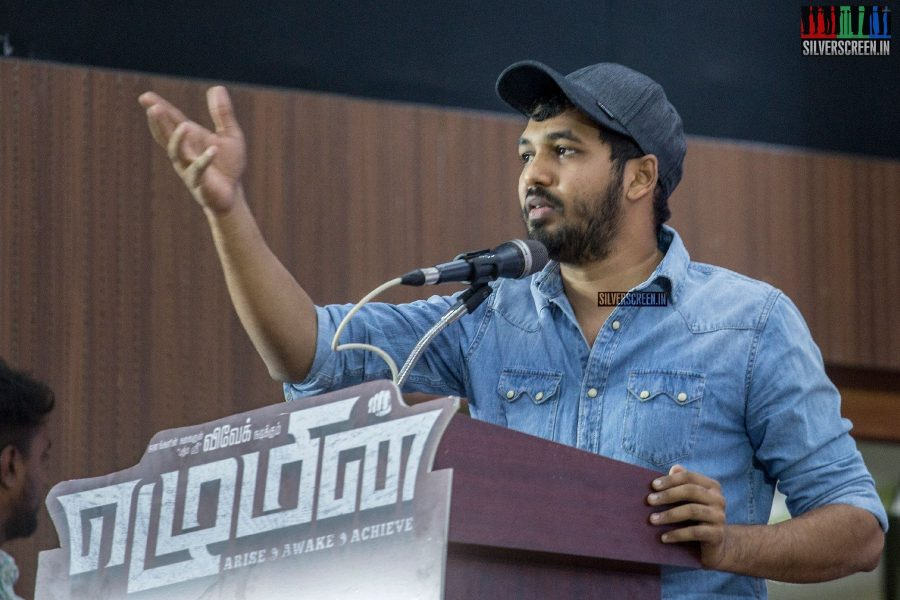 Hiphop Tamizha Aadhi At The Ezhumin Audio Launch