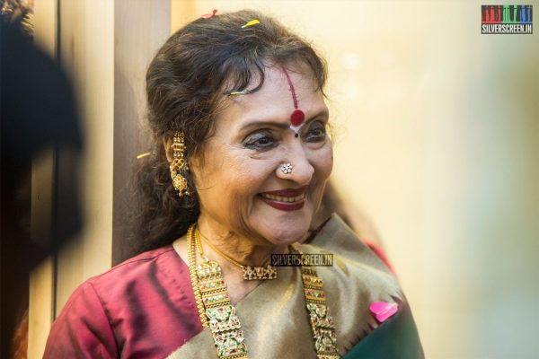 Vyjayanthimala Bali At The Launch Of A Jewellery Store In Chennai