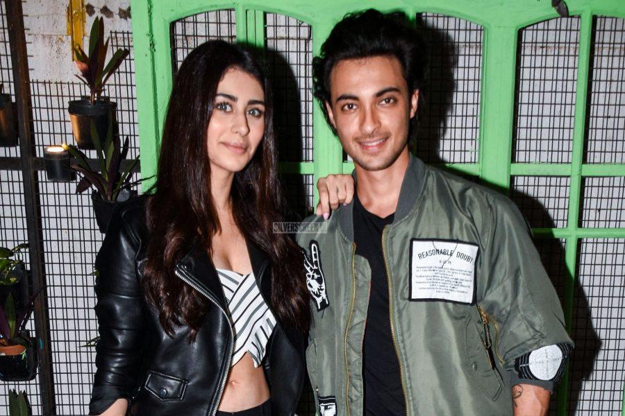 Warina Hussain, Aayush Sharma Promote Loveratri