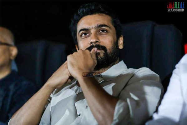 Suriya At The MovieBuff First Clap Awards Function Season 2