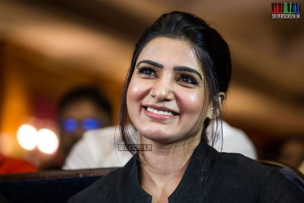 Samantha At The U Turn Press Meet