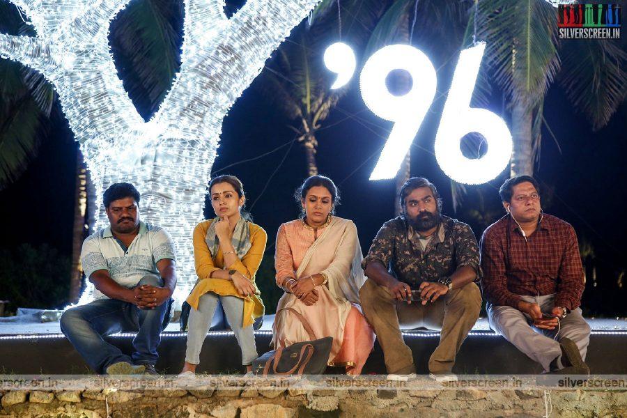 96 Movie Stills Starring Vijay Sethupathi, Trisha