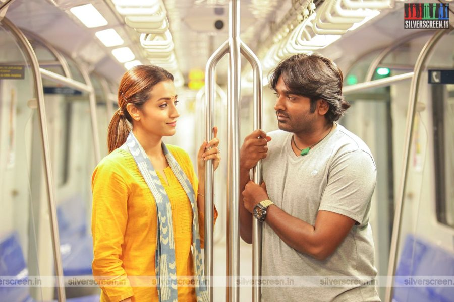 96 Movie Stills Starring Vijay Sethupathi, Trisha