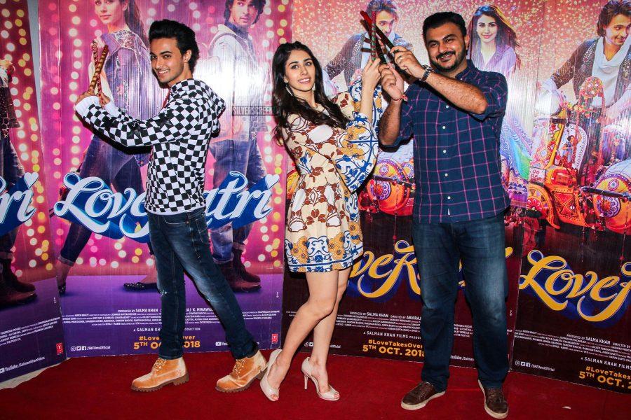 Aayush Sharma And Warina Hussain Promote Loveratri