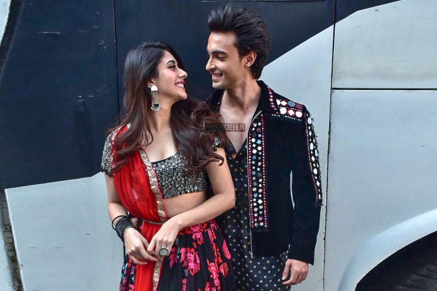 Aayush Sharma And Warina Hussain Promote Loveyatri