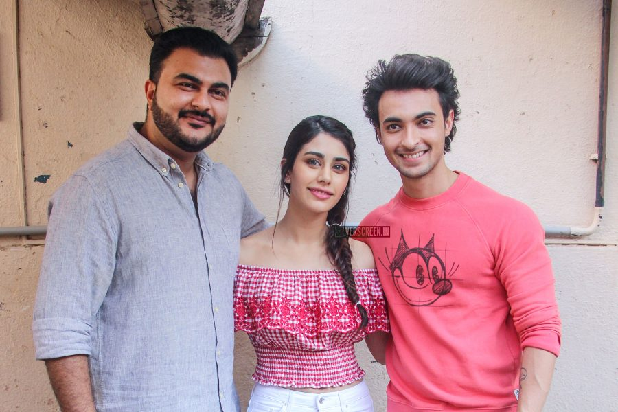 Aayush Sharma & Warina Hussain Promote Loveratri