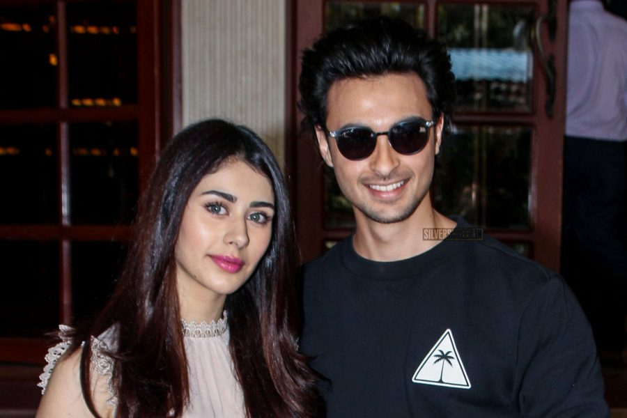 Aayush Sharma, Warina Hussain Promote Loveratri