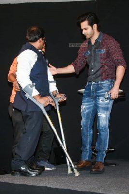 Varun Dhawan Promotes Sui Dhaaga–Made In India