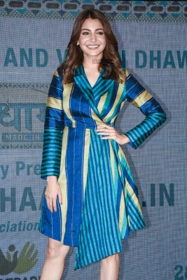Anushka Sharma Promotes Sui Dhaaga–Made In India