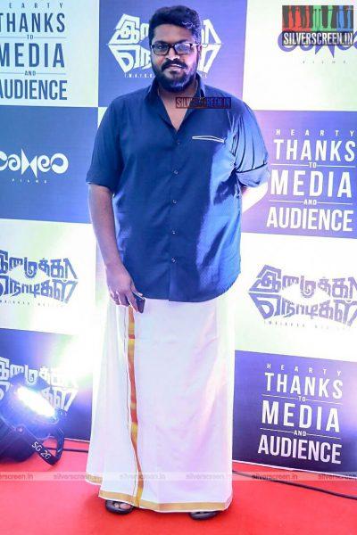 Ajay Gnanamuthu At The Imaikaa Nodigal Success Meet