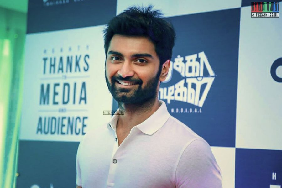 Atharvaa At The Imaikaa Nodigal Success Meet