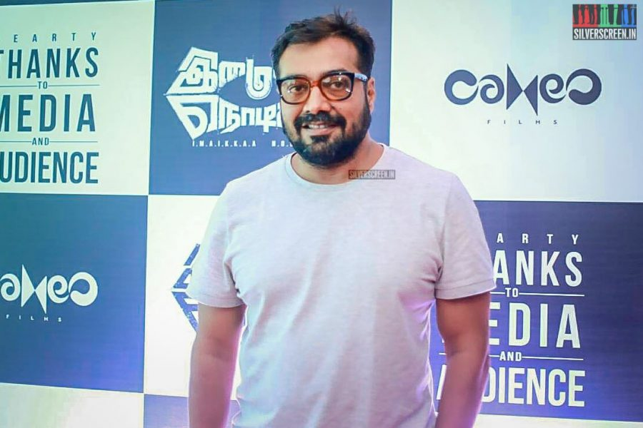 Anurag Kashyap At The Imaikaa Nodigal Success Meet