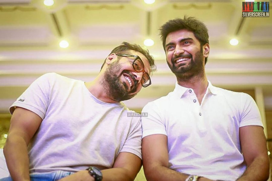 Anurag Kashyap, Atharvaa At The Imaikaa Nodigal Success Meet