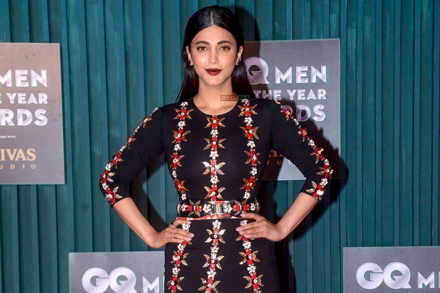 Shuti Haasan At GQ Men Of The Year Awards 2018