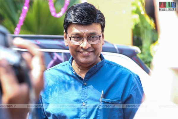 K Bhagyaraj At The Arjuna Movie Launch