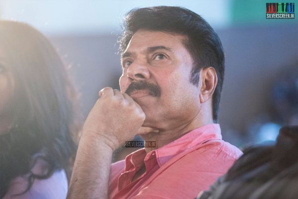 Mammootty at the Peranbu Audio Launch