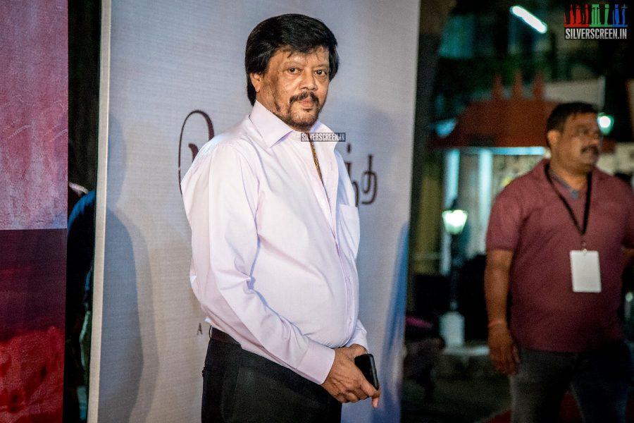 Thiyagarajan At The Chekka Chivantha Vanam Audio Launch