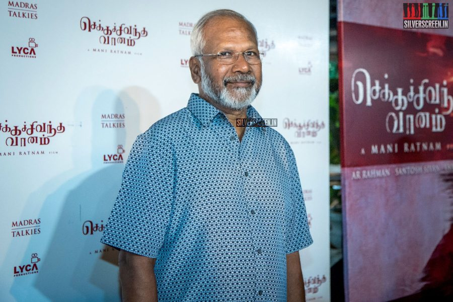 Mani Ratnam At The Chekka Chivantha Vanam Audio Launch