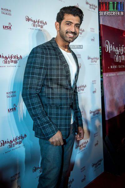 Arun Vijay At The Chekka Chivantha Vanam Audio Launch