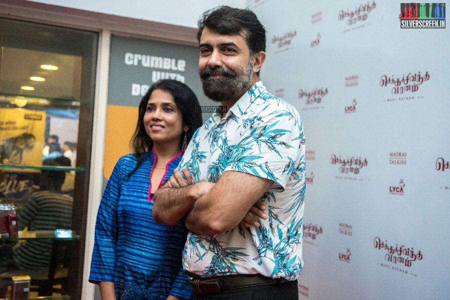 Rajiv Menon At The Chekka Chivantha Vanam Audio Launch
