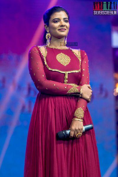 Aishwarya Rajesh At The Chekka Chivantha Vanam Audio Launch