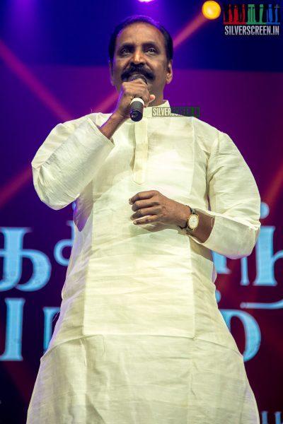Vairamuthu At The Chekka Chivantha Vanam Audio Launch