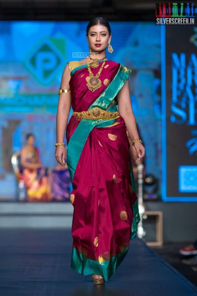 Sameea Bangera At The Madras Bridal Fashion Show Season 3