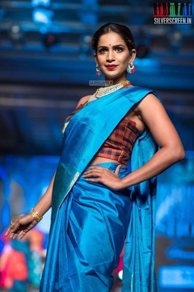Samyuktha At The Madras Bridal Fashion Show Season 3