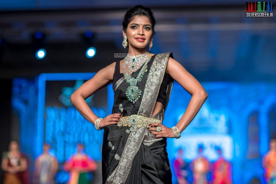Sanchita Shetty At The Madras Bridal Fashion Show Season 3