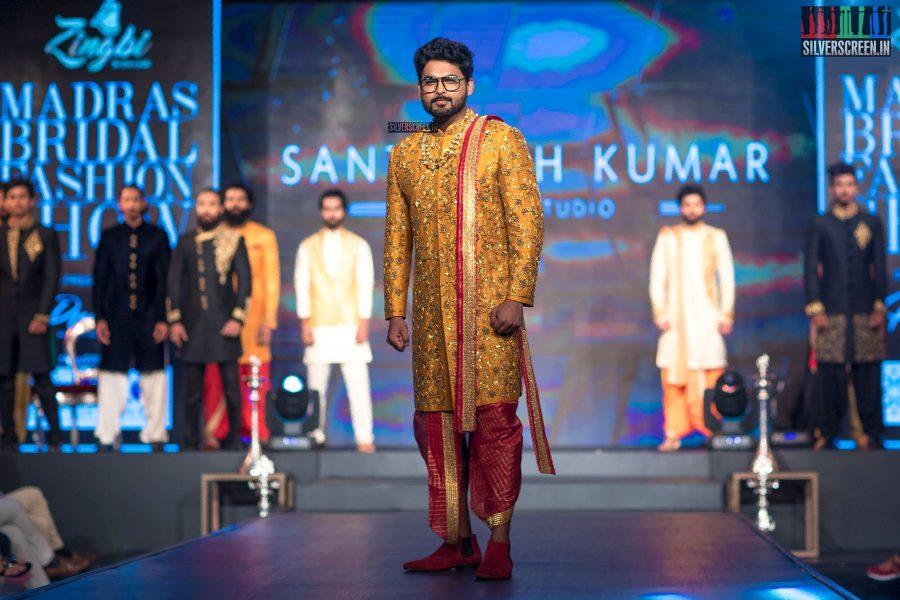 Ajmal At The Madras Bridal Fashion Show Season 3