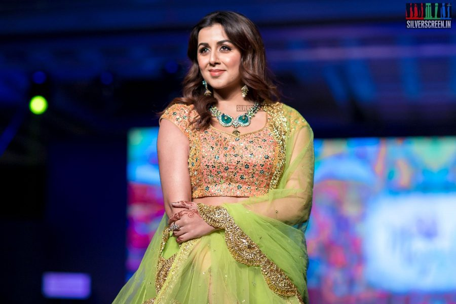Nikki Galrani At The Madras Bridal Fashion Show Season 3