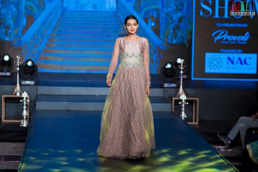 Sanchana Natrajan At The Madras Bridal Fashion Show Season 3