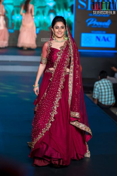 Isha Talwar At The Madras Bridal Fashion Show Season 3