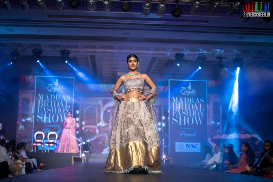 Gayathri Venkatagiri At The Madras Bridal Fashion Show Season 3