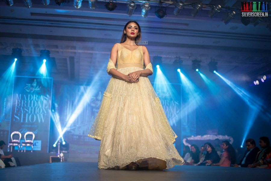 Aishwarya Suresh At The Madras Bridal Fashion Show Season 3