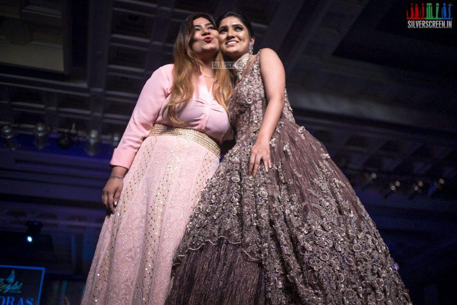 Vani Bhojan At The Madras Bridal Fashion Show Season 3