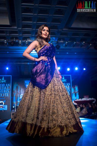 Raashi Khanna At The Madras Bridal Fashion Show Season 3