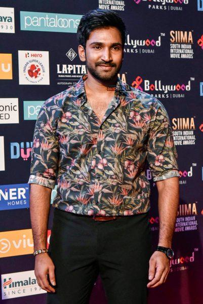 Aadhi At Day 2 Of SIIMA Awards