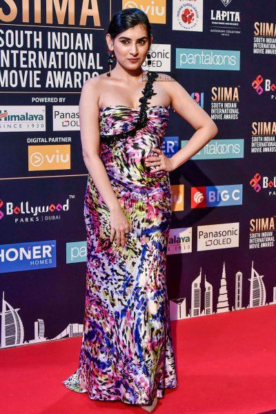Archana Veda At Day 2 Of SIIMA Awards