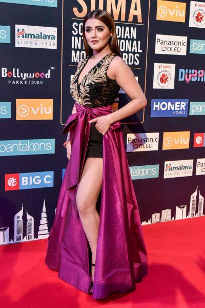 Malavika Sharma At Day 2 Of SIIMA Awards