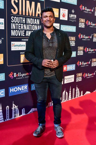 Puneeth Rajkumar At Day 2 Of SIIMA Awards