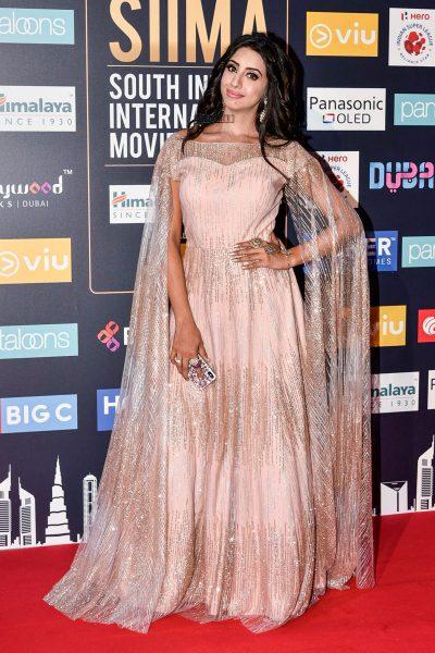 Sanjjanaa At Day 2 Of SIIMA Awards