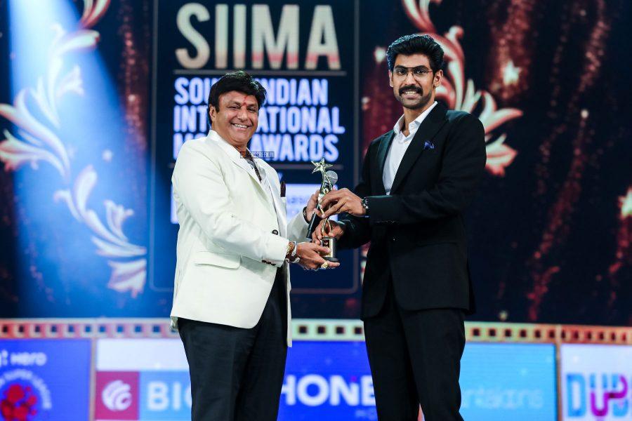 Balakrishna And Rana Daggubati At Day 2 Of SIIMA Awards
