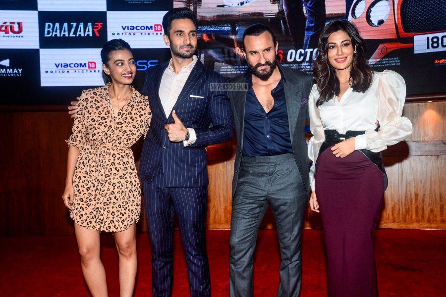 Saif Ali Khan, Radhika Apte, Chitrangada Singh At The Baazaar Trailer Launch