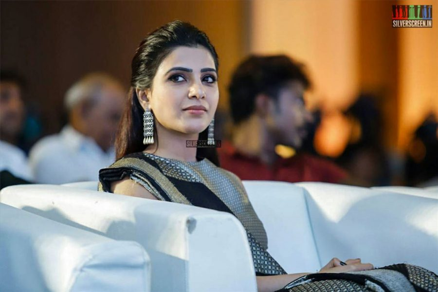 Samantha At The Seemaraja Trailer Launch